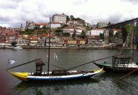 View on the historical city of Porto